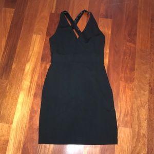 Ann Taylor Dresses - Black Ann Taylor size: 12 cross back midi dress